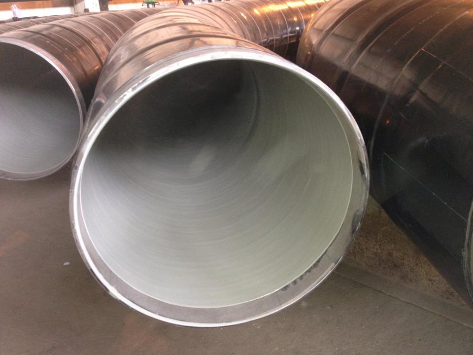 Трубы с термоусаживающимся и эпоксидным покрытием